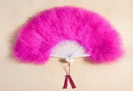 fan on sale. measures 21 inches by 12 - hand selected soft and full marabou feathers best quality fans fan on sale