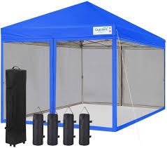 quictent 8x8 ez pop up canopy tent