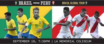 Close this notice and show me the archived match. Brazil Vs Peru Los Angeles Coliseum