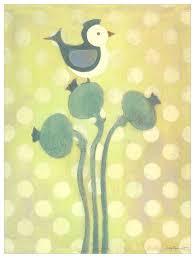 Lovebird Growth Chart Love Bird Green Wall Art
