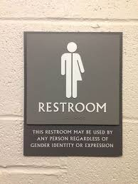 Handicap Bathroom Signs New This Restroom May Be Used By Any Person Regardless Of Gender