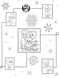 Small Picture PBS KIDS Holiday Coloring Pages Printables Happy Holidays