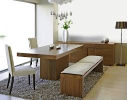 Dining Room Bench Seating Dining Room Table With Bench And Back Dining Tables With Bench