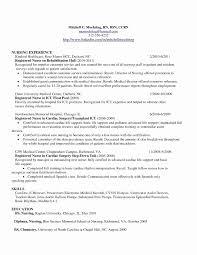 Sample Nurse Resume Luxury Sample Human Resources Resume Unique Rn