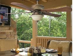 outside ceiling fans. Since Outside Ceiling Fans Often Have Overhead Lights, Your Fan Can Double As An Exterior Porch Light For Nighttime Amusing Well.