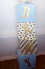 Blue And Gold Baby Shower Decorations Decorations Baby Shower Baby Shower Pinterest Blue Gold