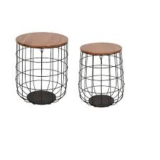allen + roth 18-in Black Outdoor Round Steel <b>Plant Stand</b> in the ...