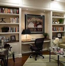 great built in shelving desk nook the lighting is the key to this great built home office desk builtinbetter
