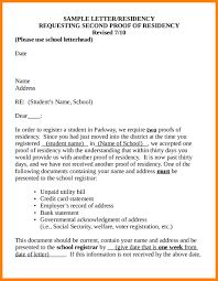 Proof Of Residency Examples 4 Sample Proof Residence Letter