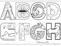 Large colorful alphabet flashcards for kindergarten & preschool! Activities Multiply Delicious All About The Kids Alphabet Coloring Pages Animal Alphabet Alphabet Preschool
