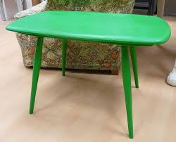 ercol coffee table hand painted