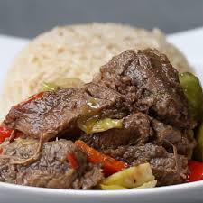slow cooker steak and veggies