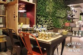 anthropologie style furniture. dinning department and hanging plant instalation in anthropologie london style furniture n