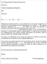 Formato De Carta De Solicitud Modelo Carta Solicitud De Vacaciones Ejemplos De