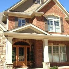 exterior paint colors that go with brickWhat Color Siding Goes With Red Brick House Siding Colors With