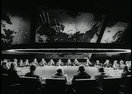 is this the best film set ever designed on dr strangelove s war room the war room in ldquodr strangeloverdquo on screen image sony pictures