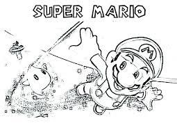 Super Mario Odyssey Coloring Pages To Printable Jokingartcom