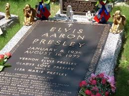 Image result for elvis presley grave