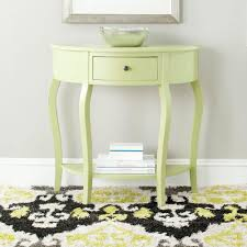 small demilune hall table. Safavieh Jan Demilune Avocado Green Storage Console Table-AMH6569F - The Home Depot Small Hall Table D