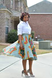 African Skirts Patterns Cool DIY African Print Skirt Thriftanista In The City