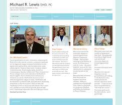 Dental Office Website Design Impressive Bethany Flannery Portfolio Lewis Dental Website Concepts