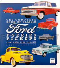 1966 ford f 100 thru f 750 truck wiring diagram manual reprint 1955 Ford F 100 Wiring Diagram 1948 1976 complete book of classic ford f series pickup trucks f 100 1955 Ford Fairlane Wiring-Diagram