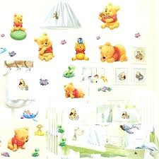 winnie the pooh nursery decor the pooh bedroom wallpaper cartoon wall stick kindergarten children room bedroom winnie the pooh nursery