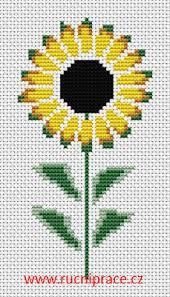 Sunflower Free Cross Stitch Free Pattern Download Cross