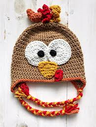 Crochet Turkey Hat Pattern Interesting Inspiration