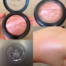 mac rio want i have two of their other pink mineral blushes