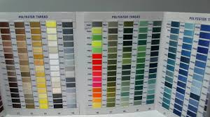 Floriani Deluxe Thread Color Chart 844050096053