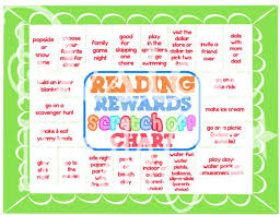 Free Printable Reading Incentive Charts Reading Rewards Scratch Off Chart Free Printable