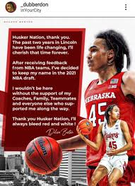 Dalano banton was not on my list of nba prospects heading into this season, but it only took a couple of game for him to be considered one of my top prospects for the 2021 nba draft. Chris Basnett On Twitter Dalano Banton Makes It Official He S Off To The Nba Draft Huskers