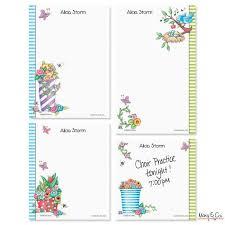 mary engelbreit personalized notepad set