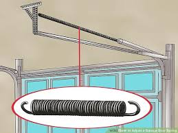 image titled adjust a garage door spring step 1