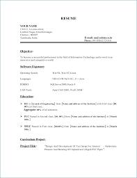 Resume Format For Software Testing Fresher Publicassets Us