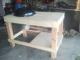 weber grill cart station plans