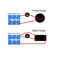 installing a battery charge indicator on a golf cart click to view bci diagram