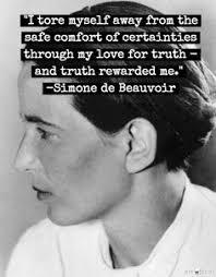 Simone De Beauvoir Quotes Inspiration 48 Strong Women Quotes Herinterest
