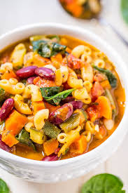 easy 30 minute minestrone soup better than olive garden copycat