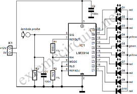 lambda probe readout for carburettor tuning circuit diagram lambda probe readout for carburettor tuning