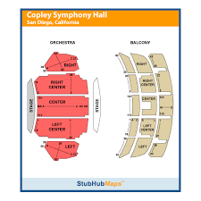 Copley Symphony Hall San Diego Seating Chart Copley Symphony Hall Events And Concerts In San Diego