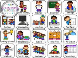 Preschool Classroom Job Chart Printables Image Result For Free Printable Preschool Job Chart Pictures