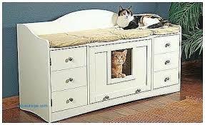 Decorative Cat Litter Box Hidden Litter Box Furniture Cat Tree Litter Box Combo Cat Tree 98