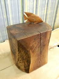 custom coffee table books thewkndedit com book printing delhi natural tree stump side brings nature fragment into your int