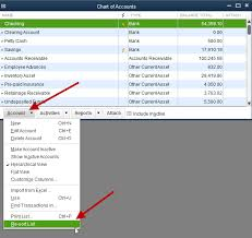 What Does The Chart Of Accounts List In Quickbooks Why Sort Lists Experts In Quickbooks Consulting