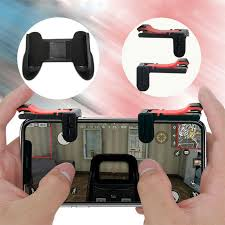 dels about 1pc hot gaming trigger cell phone game pubg controller gamepad for android ios