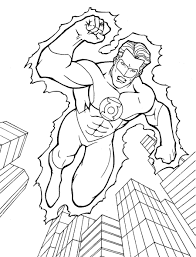 Small Picture Green Lantern Coloring Page Coloring Book