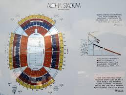 Aloha Stadium Seating Chart Virtual Aloha Stadium Map Seating Aloha Stadium Tickets 2019 09 04