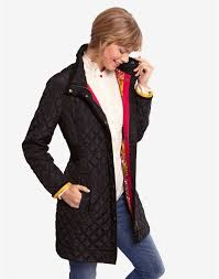 36 best Womens Quilted Jacket Ideas images on Pinterest | Joules ... & Long Quilted Jacket Womenblack Fairhurst Womens Long Length Quilted Coat  Joules Adamdwight.com